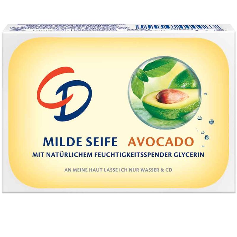 CD Milde Seife Avocado 125 g